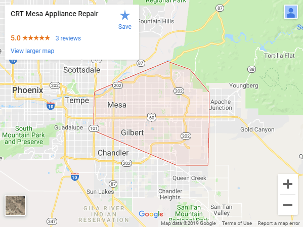 Appliance Repair Mesa Az 480 787 0667 Crt Mesa